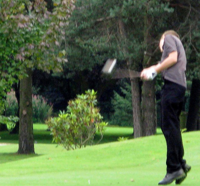 Certainly no lack of commitment in the follow through.