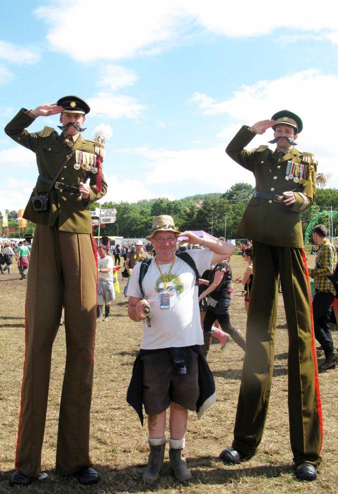 salutes you