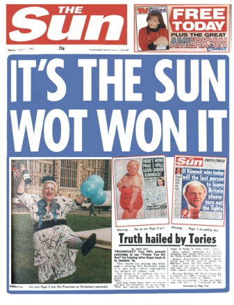 Sun backs SNP